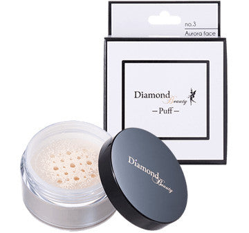 Diamond Beauty - Puff 03 Aurora Face (Whitening) Loose Powder  Powder - Japan Skin