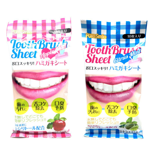 Pure Smile Mouth Tissues 10 sheets  Accessories - Japan Skin