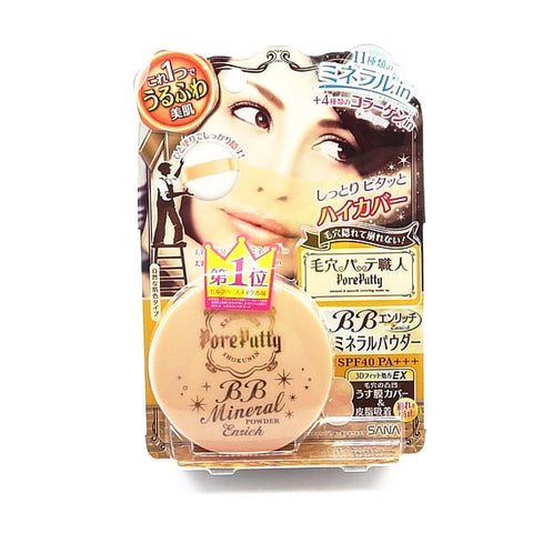 Pore Putty BB Mineral Powder Enrich SPF40PA+++  BB Cream - Japan Skin