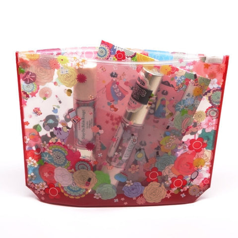 Kyotosilk Maiko Cosmetic Pouch  Accessories - Japan Skin