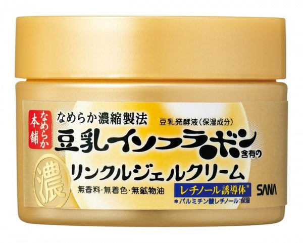 Namerakahonpo 5-in-1 Gel Cream (anti wrinkle)  Face Cream - Japan Skin