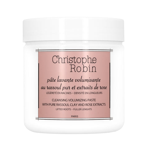 Cleansing Volumizing Paste with Pure Rassoule Clay and Rose Extracts