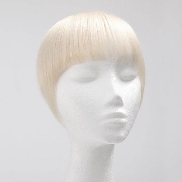 Clip In Fringe Platinum Blonde #60