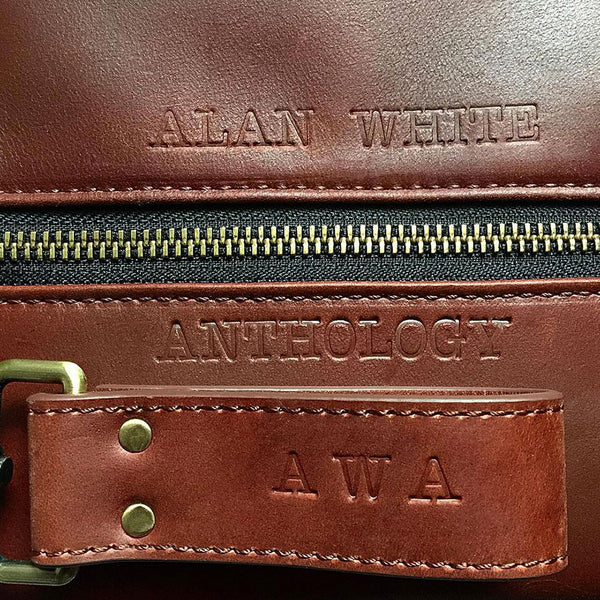Leather Style Bag Embossing