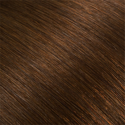Hair Weft Chestnut Brown #06