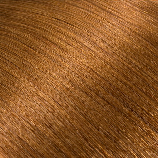 Hair Weft Copper Brown #17
