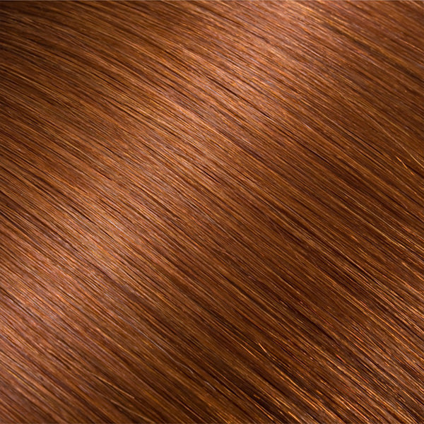 Hair Weft Light Auburn #30
