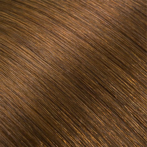 Hair Weft Light Brown #08
