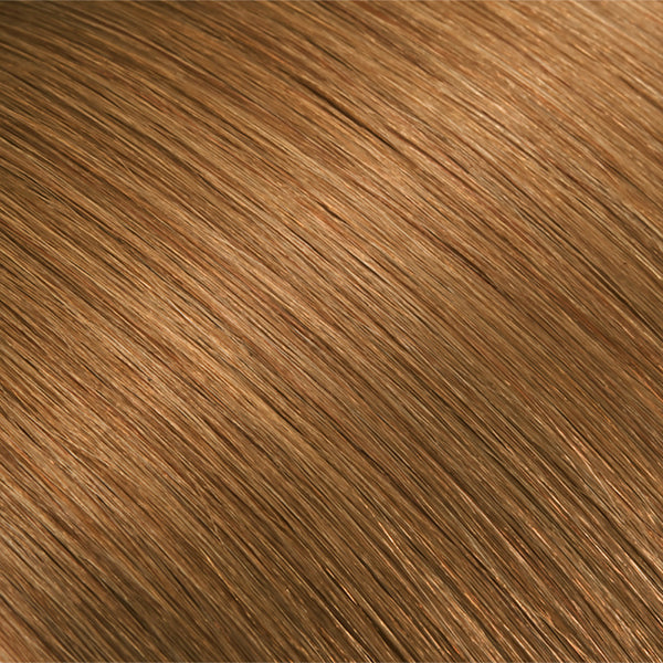 Hair Weft Light Golden Brown #14