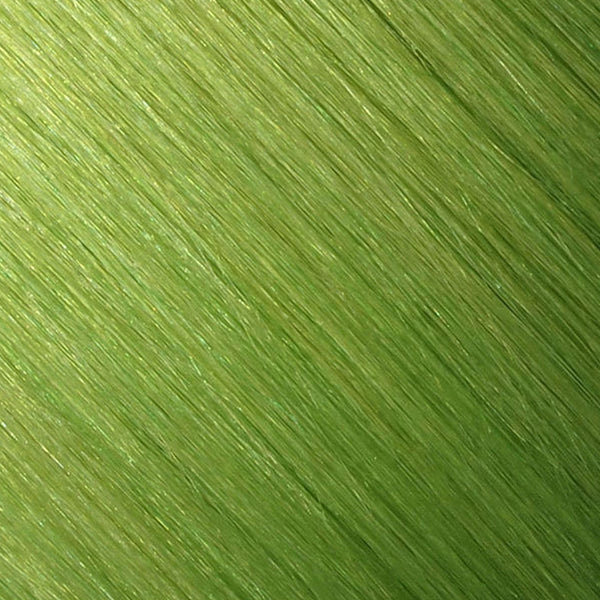 Hair Weft Lime Green