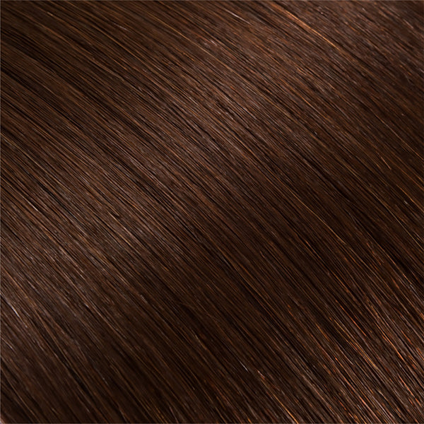 Hair Weft Medium Brown #04