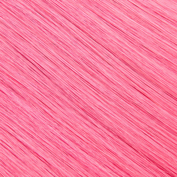 Hair Weft Pink