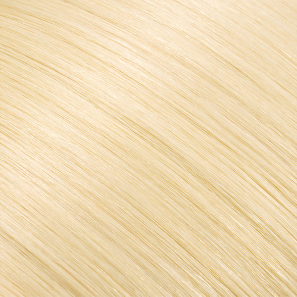 Hair Weft Platinum Blonde #60