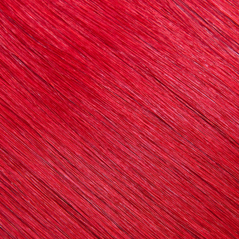 Hair Weft Fire Red