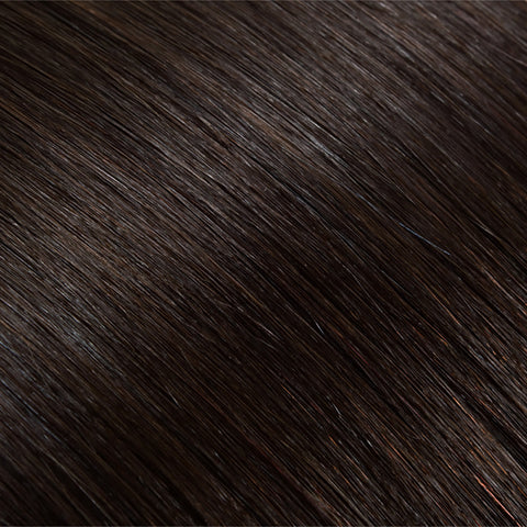 Hair Weft Very Dark Brown #02