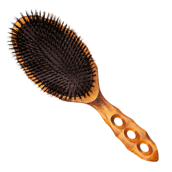 Y.S. Park Wood Air Vent Cushion Styler Brush 120CS1