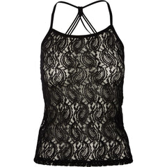 Black lace top 5599-56 Nü