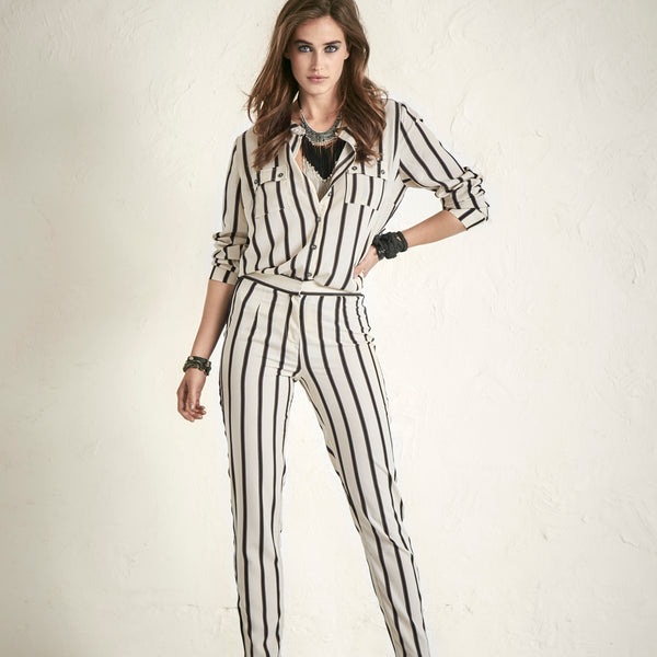 Suit up in stripes NÜ 5576