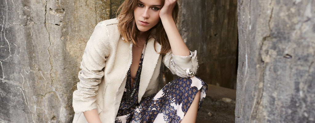Celina blazer and pullover with sequins