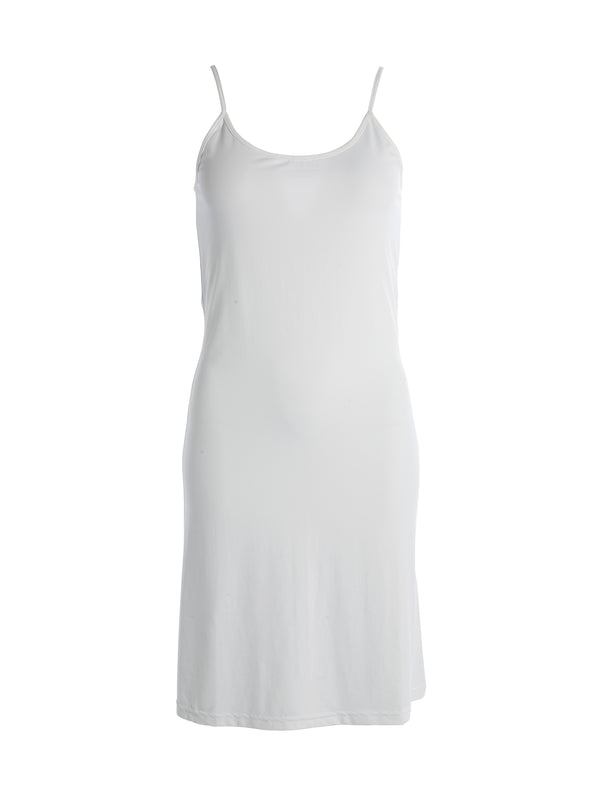 NÜ CAPE soft dress Dresses 110 Creme