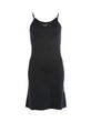 CAPE soft dress - Black