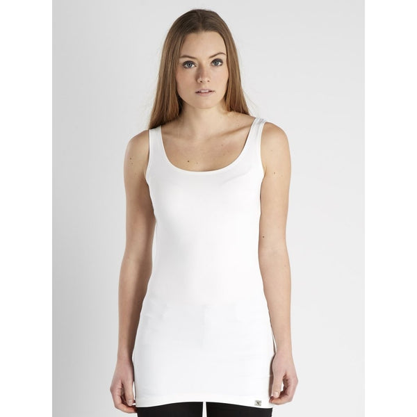 NÜ MOOSE long top Top White