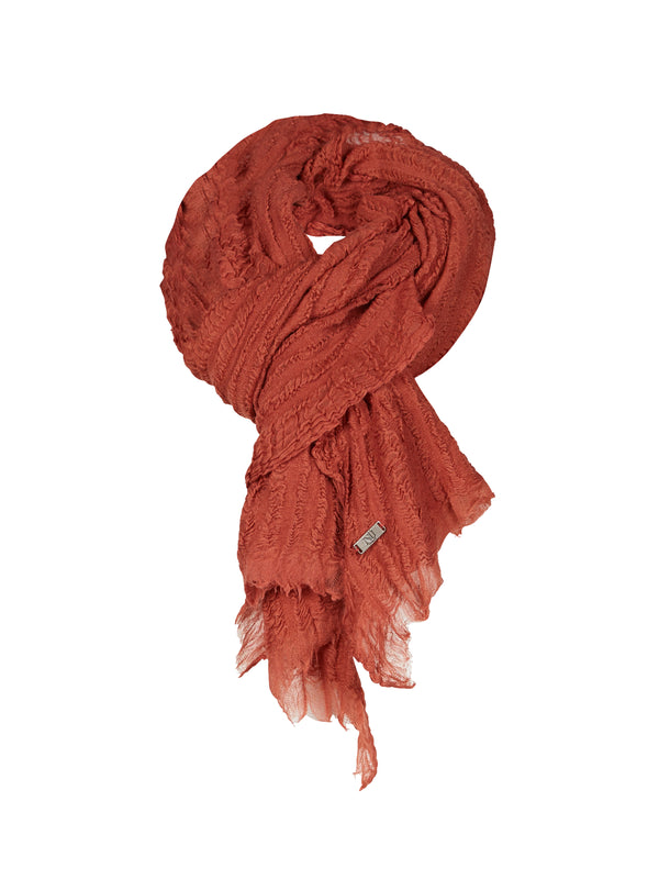 NÜ HOPE skjerf Scarf 659 Warm Blush