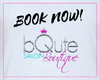 Salon Session Signature Service Scheduling - bQute LuXe Hair & Lash Boutique