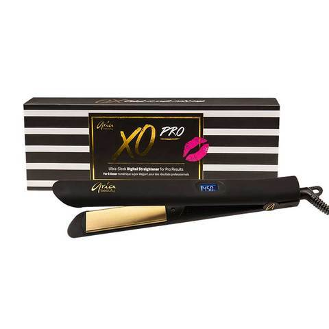 "Ariabeauty  Aria Beauty XO Pro 1"" Hair Straightener/ Flat Iron - bQute LuXe Hair & Lash Boutique"
