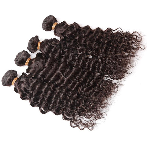 INDIE Q'  4 Bundle Deal Brazilian Curly Hair 16-18-20-22in - bQute LuXe Hair & Lash Boutique
