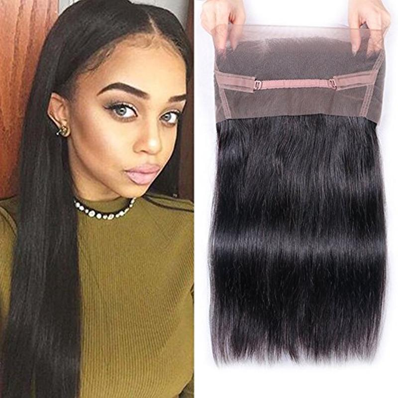 360 Lace Frontal Closure Natural Color - bQute LuXe Hair & Lash Boutique