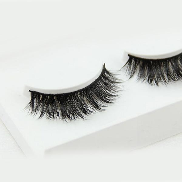 1 Pair Charming Real Mink Hair Eyelashes Extension - bQute LuXe Hair & Lash Boutique