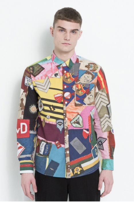ADRIAN ALL OVER PRINTED SHIRT IN MULTI COLOR