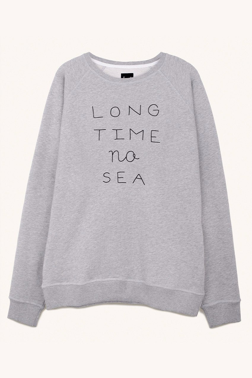 Long Time No Sea Sweat in Grey