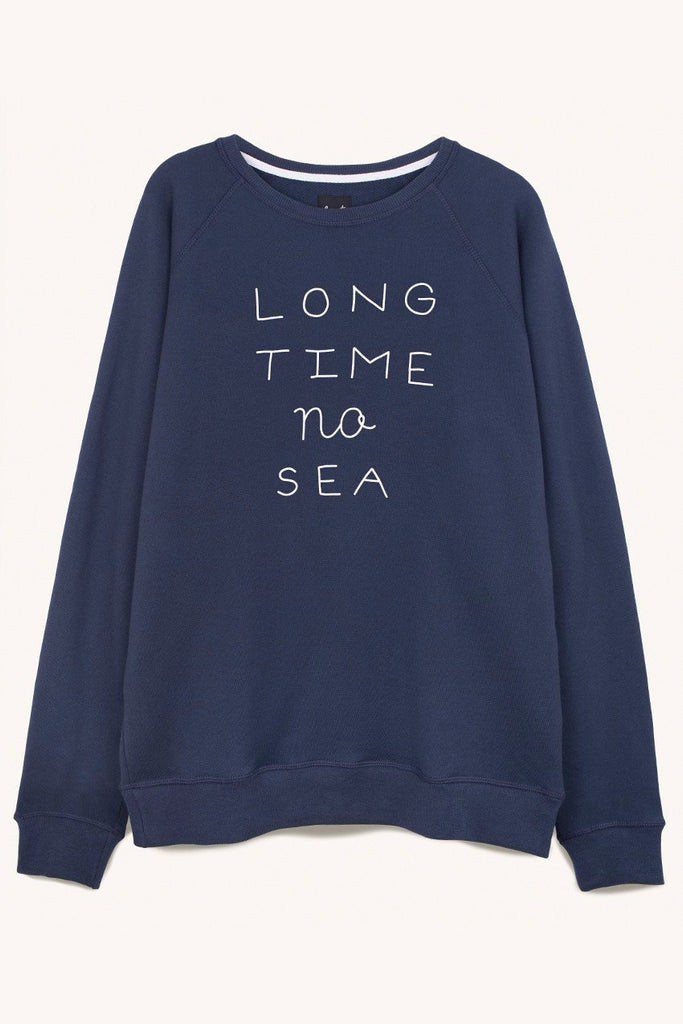 Long Time No Sea Sweat in Navy