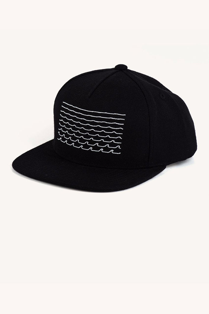Waves Snap Back in Black
