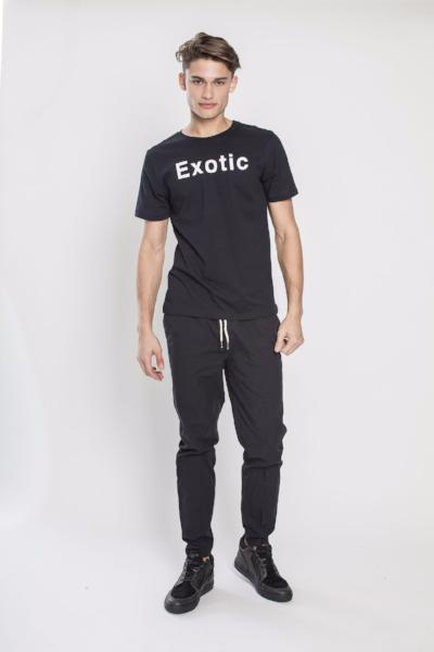 Double E T-Shirt in Black