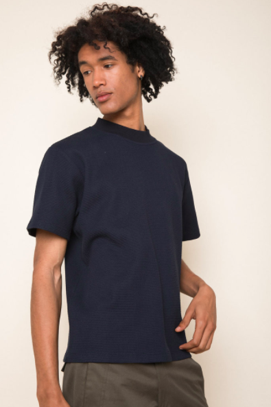 Byron T-shirt in Navy