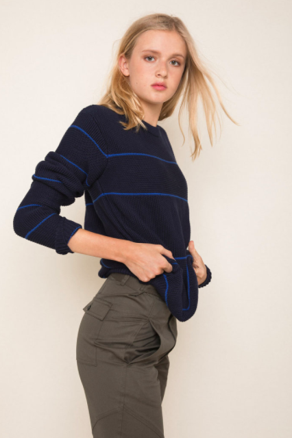 Benny Sweater in Navy