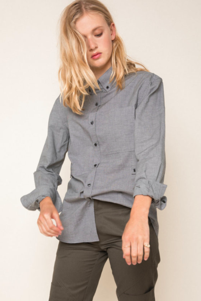 Madison Shirt in Houndstooth