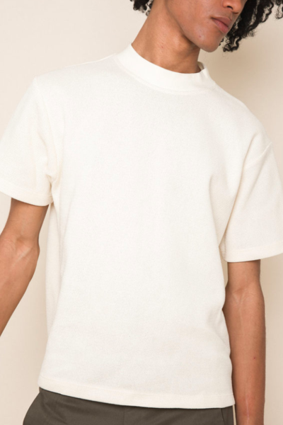 Byron T-shirt in Ivory