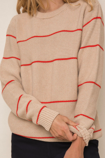 Benny Sweater in Khaki