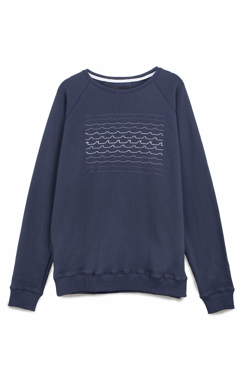 Tidal Waves Sweat in Navy