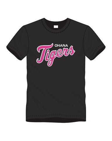 Ohana Tigers - MLB Breast Cancer Drifit