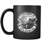 I'd Rather Be Bowhunting Mug for Compound Bowhunters by Anchor That Point