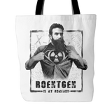 Roentgen is My Homeboy Tote Bags
