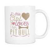 This Girl Loves Her Pitbull