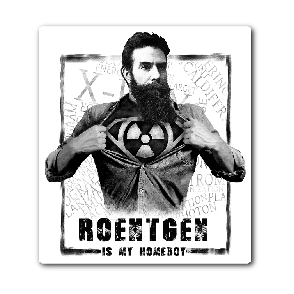 Roentgen Is My Homeboy Sticker