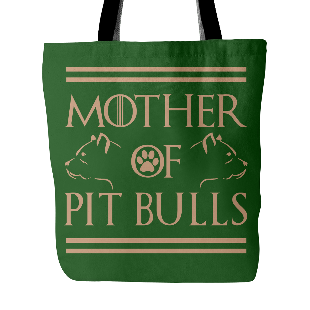 Mother Of Pit Bulls Tote Bag