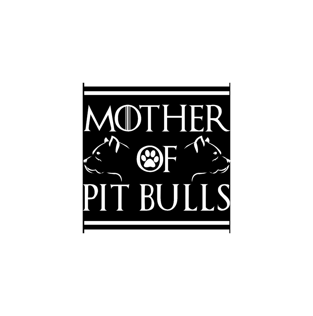 Mother Of Pit Bulls Sticker